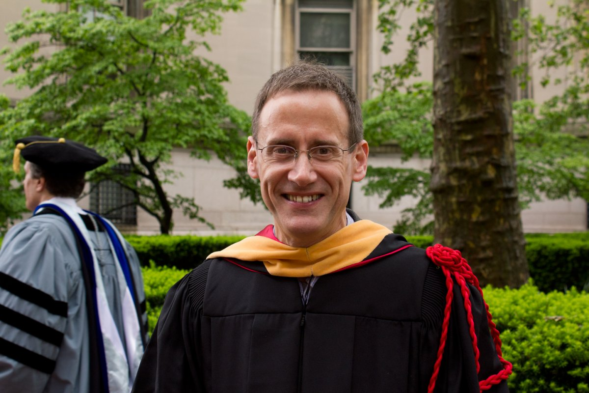 Barry Kane at University Commencement May 2012