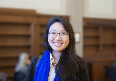 Sarah Yang student profile: sarah yang's many passions have service in common
