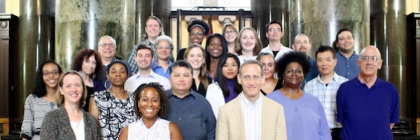 staff photo, Registrar's Office, August 2018